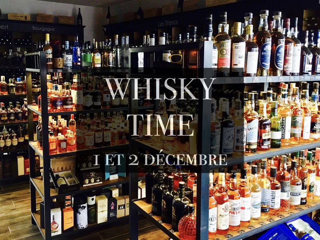 Whisky Time 1 et 2 décembre
