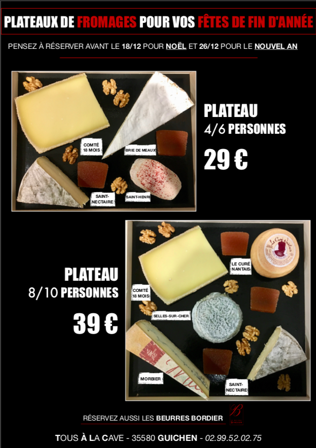 carte fromtons 2018